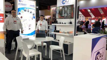 La industria de conectores KRJ asiste a la feria BIEL Light + Building